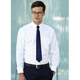 Koszula OXFORD z długim rękawem biała