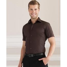 Dopasowana Koszula EASY CARE z krótkim rękawem