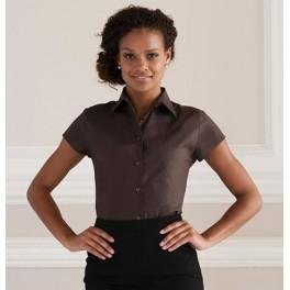 Damska Dopasowana Koszula EASY CARE z krótkim rękawem