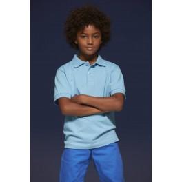 Klasyczna Dziecięca Koszulka polo