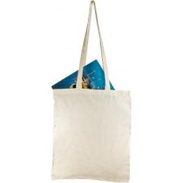 Naturalna torba na zakupy, długie uszy